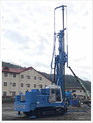 ウルトラコラム工法施工状況(Gl-130C)