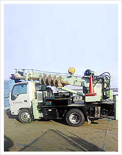 保有機械 3t建柱車(GD-50A)