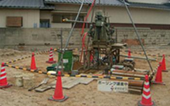 S建設事務所新築計画 ボーリング調査