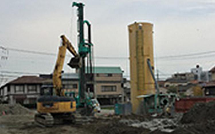 Dマンション新築工事